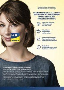 Universal HR Software HRworks - 360° - Alles inklusive - Funkitonsübergreifende Berichte und Weiterentwicklung. Alle Funktionen. Eine Anwendung.