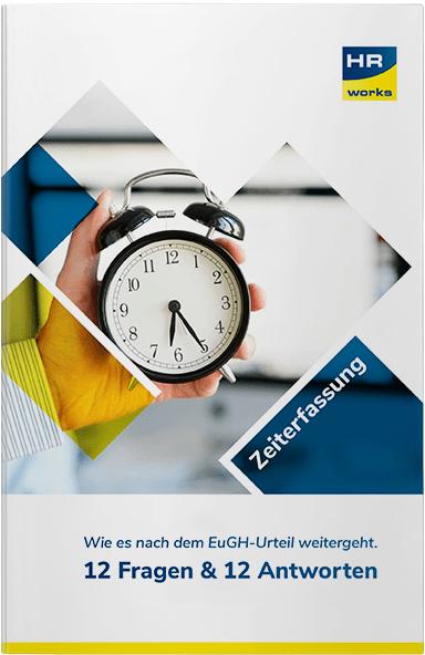 12 aktuelle Fragen zur Zeiterfassung und EugH im E-Book beantwortet