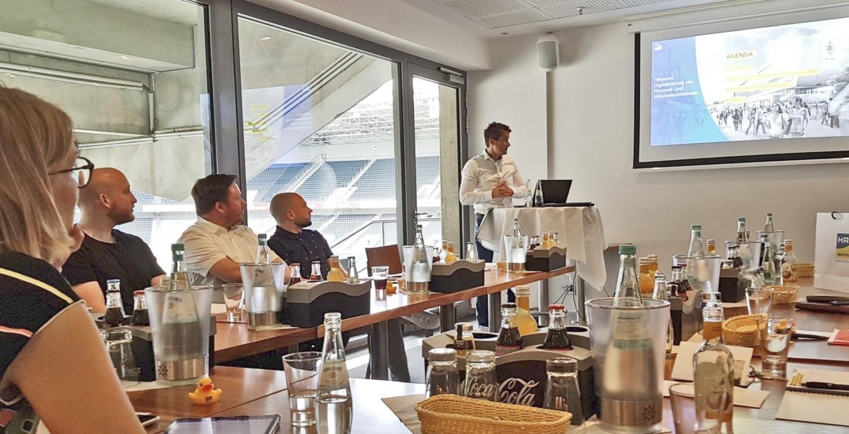 Kundenevent der Bundesliga - HR Software