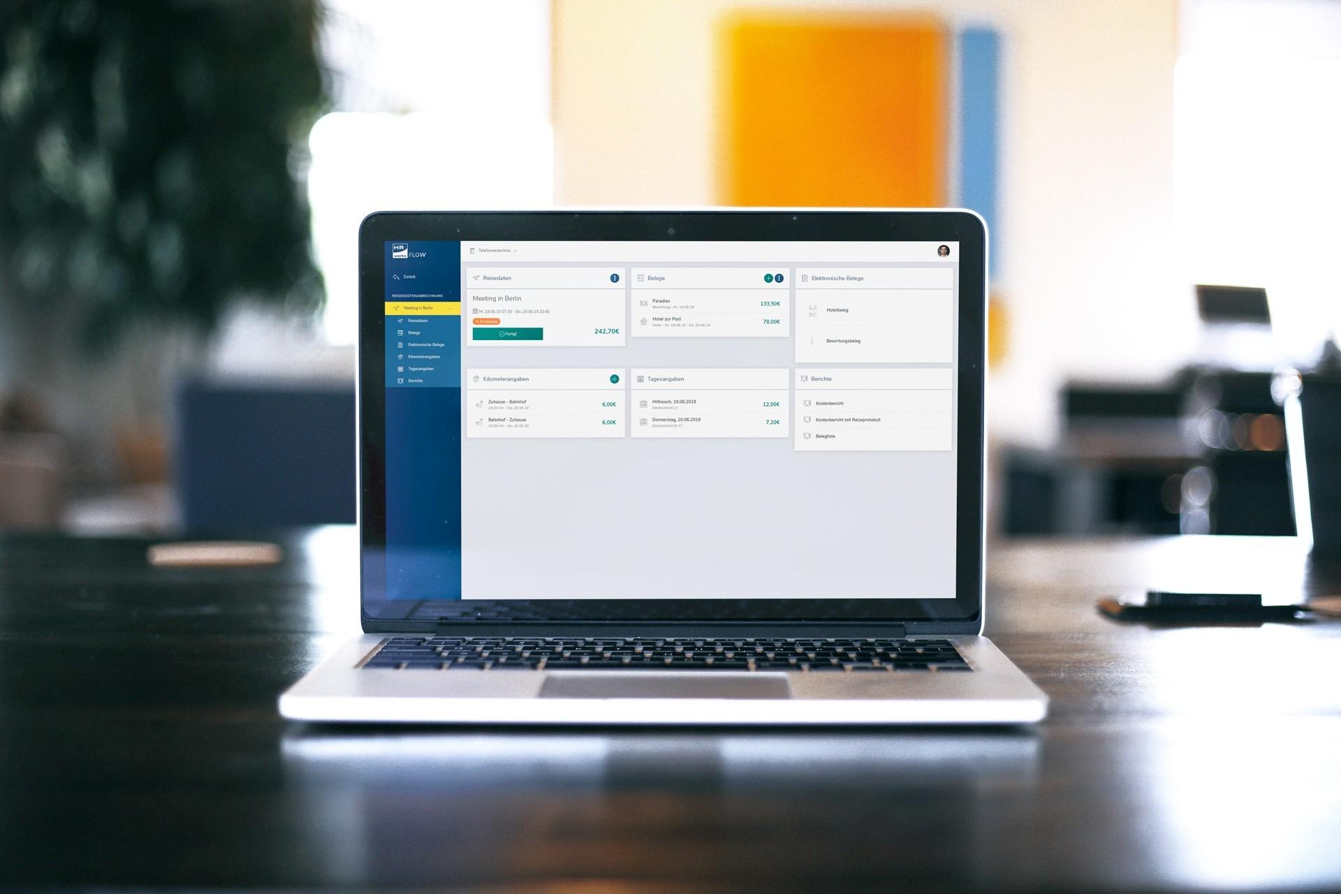Neue Benutzeroberfläche bei HRworks